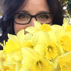 """And then my heart with pleasure fills. And dances with the daffodils."" Wordsworth and JLD, I love her. Brad Hall, Julia Louis Dreyfus, Environmentalist, Seinfeld, Daffodils, In Hollywood, Like You, Love Her, The Past"