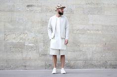 フランスのおしゃれメンズファッションスナップ | Q ration(キューレーション) | QUAEL bags | クアエル