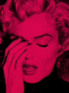 View Marilyn Suicide French Rose black by Russell Young on artnet. Browse more artworks Russell Young from Galerie Kronsbein. Young Marilyn Monroe, Marylin Monroe, Russell Young, Pop Art, Fuchsia, Periwinkle, Norma Jeane, Everything Pink, Illustrations