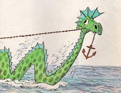 Cyrus the Unsinkable Sea Serpent - written & illustrated by Bill Peet (1975)