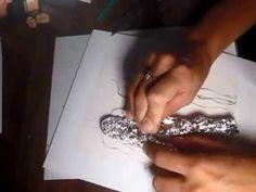 estrutura para noivinhos de biscuit em papel aluminio