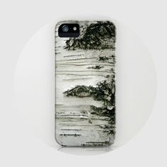 iPhone 5 case, iPhone 5, birch tree, woods, - Birch, iPhone 5 case. $45.00, via Etsy.