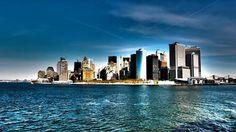 New york city skyline 179195 widescreen desktop mobile iphone android hd wallpaper and desktop. Manhattan New York, Manhattan Skyline, Lower Manhattan, Usa Wallpaper, New York Wallpaper, City Skyline Wallpaper, Skyline Von New York, New York Pictures, Best Cities