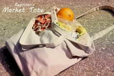 Beginner's Market Tote Sew Tutorial - I originally found this great project on freeneedle.com along with 1,000s of other free sewing and craft ideas!