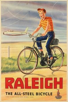 Raleigh All Steel Lady Vintage Metal Wall Sign Plaque Mancave Bike Cycle Kitchen