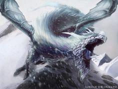 Ice Dragon by Rez-art