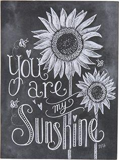 Primitives By Kathy Chalk Sign - My Sunshine