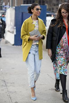 Essence Magazine Street Style: New York Fashion Week 2014