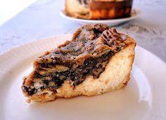 La Petite Brioche: Pecan Pie Cheesecake for Mr. Incredible's Birthday!