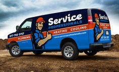 plumbing van wraps | Truck wrap and fleet branding for a Union, NJ-based HVAC and plumbing ...