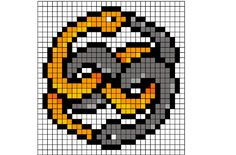 The Never-Ending Story: Auryn Pattern by Sneeuwmaan.deviantart.com on…