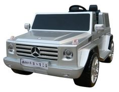 National Products 12V Silver Mercedes Benz G-Class Battery Operated Ride-on by Miles needs this G-ride!  http://www.amazon.com/dp/B002CVTHPE/ref=cm_sw_r_pi_dp_hOjfqb0Z6RVY8
