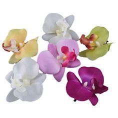 6 PCS New Orchid Flower Fashion Hair Clip Hairpins Bridal Hawaii Party Girl Hittime http://www.amazon.com/dp/B00NNLWTRU/ref=cm_sw_r_pi_dp_hoWvwb0NQMF56