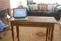 Expandable Table from Instructables - I may take a weekend out here to build it. We need a summer stowable for parties!