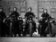 Women dispatch riders, WWII, UK?