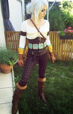 Ciri - The Witcher 3 Cosplay by Dragunova-Cosplay on DeviantArt
