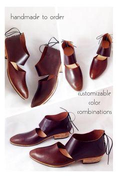 The Rakia AMB   Plain Front  Handmade Womens Shoes por SevillaSmith
