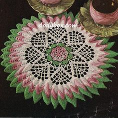 Free Vintage Crochet - Doily Pattern More