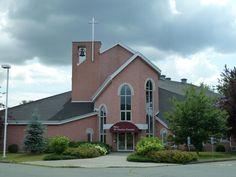 Sherbrooke (église Saint-Charles-Garnier), Québec, Canada (45.410639, -71.957052)