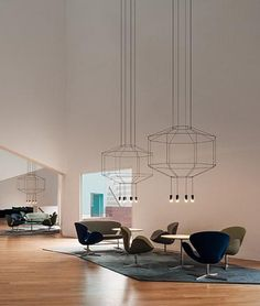 Lustre Wireflow - Vibia