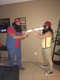 Cheech and Chong Funny Couple Costumes, Couple Halloween Costumes For Adults, Homemade Halloween Costumes, Easy Costumes, Halloween 2018, Baby Halloween, Halloween Themes, Cheech And Chong Costumes, Costume Craze