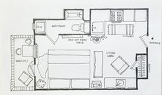 5 Studio Apartment Layouts that Work — Renters Solutions | apartmenttherapy.com