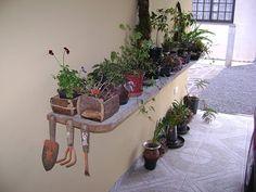 Ah, lá em casa!: Coisas de jardinagem