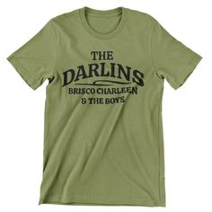 Andy Griffith T Shirt / The Darlins / Brisco / Charleen / Hand screen-printed Men's / Ladies / Fitted Mt Pilot / Mayberry / Barney Fife / by cottonpickincrazy on Etsy