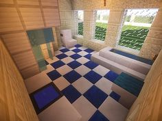 California Mansion | Minecraft House Design - bathroom