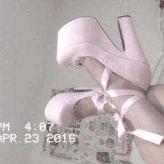 Find images and videos about pink, shoes and pastel on We Heart It - the app to get lost in what you love. Badass Aesthetic, Boujee Aesthetic, Aesthetic Movies, Angel Aesthetic, Bad Girl Aesthetic, Aesthetic Images, Aesthetic Videos, Aesthetic Grunge, Aesthetic Vintage