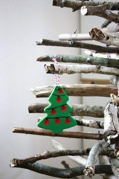 Clay, Christmas Ornaments, Holiday Decor, Advent, Home Decor, Fimo, Salt Dough Christmas Ornaments, Diy Christmas Cards, Clays
