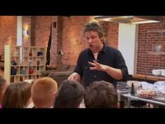 From the show Jamie Oliver Food Revolution. Jamie Oliver attempts and fails miserably in trying to convince a group of American kids that consuming processed chicken nuggets are bad. Jamie Oliver, You Make Me Laugh, Food Science, Chicken Nuggets, Health Eating, Stress Free, Eating Habits, Get Healthy, Good To Know