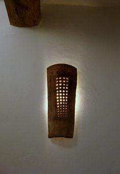 roof tile wall light