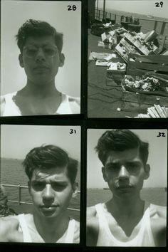 Allen Ginsberg, Utilityman, aboard S.S. John Blair, 1947