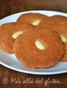 Más allá del gluten...: Galletas de Harina de Almendras (SCD, GFCFSF, Vegana) Gluten Free Biscuits, Gluten Free Baking, Gluten Free Recipes, Healthy Treats, Healthy Desserts, Delicious Desserts, Healthy Recipes, Baby Food Recipes, Cookie Recipes