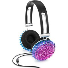 Celebrate Shop Geode Headphones, ($32) ❤ liked on Polyvore featuring accessories, tech accessories and multi