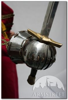 Gantelets médiévaux de combat ArmStreet