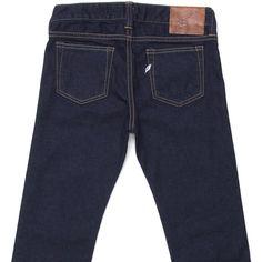 **NEW Pure Blue Japan Ladies - 1069BL Slim Fit Jeans Indigo Blue