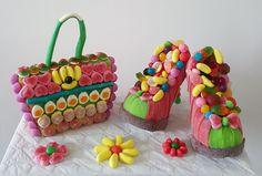 sac chaussur en bonbon