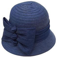 d3fb4faead3 This chic cloche hat by Swan Hat features a large three bow detail that  adds an