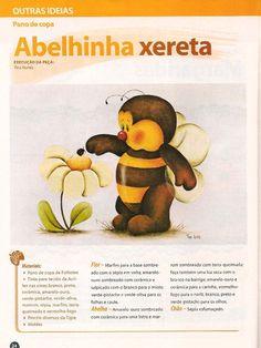 Desenho de abelhinha