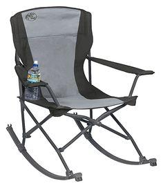 Bass Pro Shops 174 Big Outdoorsman Rocker Fold Up Chair