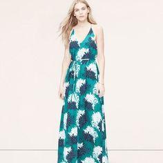 Loft floral bloom maxi dress- size 6 Excellent condition maxi dress. Worn only a handful of times. LOFT Dresses Maxi