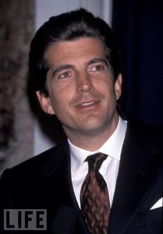 John Kennedy, Jr. one georgeous man! rip