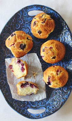 Blueberry Buttermilk Muffins. Buttermilk, cream cheese, butter and blueberries come together to make a might fine, stick to your ribs muffin. Blueberries are popular for both Mother's Day and Memorial Day recipes.