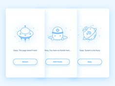 Error Page by Nora #Design Popular #Dribbble #shots