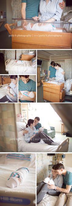 Inspiration | Fresh 48 Hospital Newborn | Patty K Photography