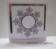 Card made using Stamping Gear by Inkadinkado