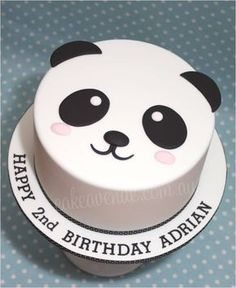 Cake decoration cream simple 26 New ideas Amazing Wedding Cakes, Fall Wedding Cakes, Wedding Cake Designs, Panda Birthday Cake, Birthday Cake Girls, Birthday Cakes, Birthday Recipes, 8th Birthday, Bolo Panda