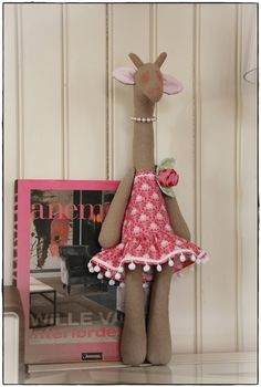 Handmade Tilda fabric toy (Mokkamaster)
